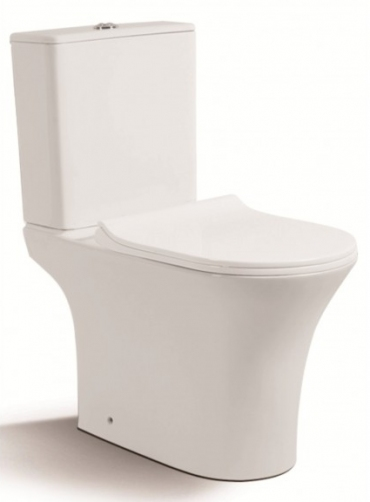 ΛΕΚΑΝΗ SET WC INTER CERAMIC 793P RIMFREE