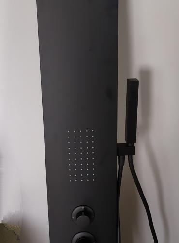 Στήλη υδρομασάζ TEMA  NEW ROMA BLACK 53100-2